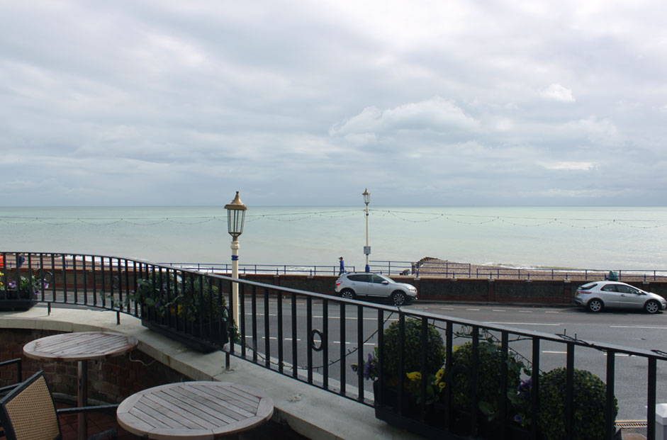 Crown & Anchor Pub Eastbourne Balcony View