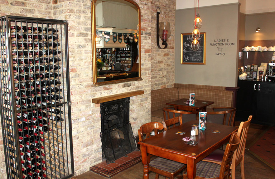 Crown & Anchor Pub Eastbourne Fireplace