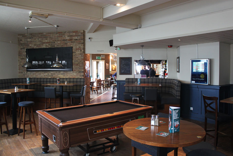 Crown & Anchor Pub Eastbourne Games Area