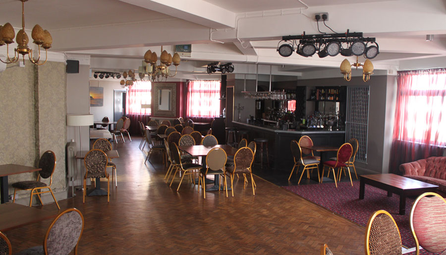Crown & Anchor Pub Eastbourne Spacious Function Room