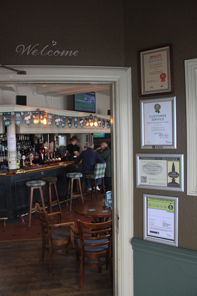 Crown & Anchor Pub Eastbourne Welcome