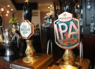 Crown & Anchor Pub Eastbourne IPA and Old Speckled Hen