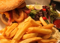 Crown & Anchor Pub Eastbourne Food -  Boston Burger