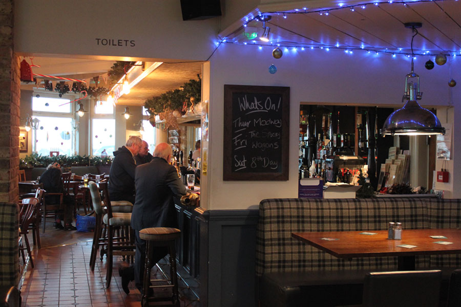 Crown & Anchor Pub Eastbourne - Christmas