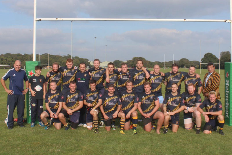 Eastbourne Rugby Club - sponsored by The Crown & Anchor Pub Eastbourne