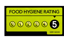 Food Hygiene 5 Rating at Crown & Anchor Pub Eastbourne