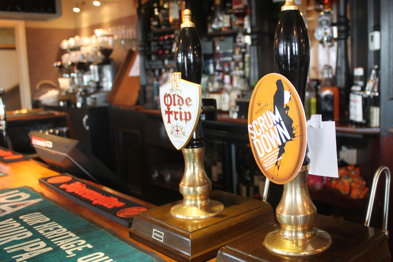 Guest Ales at The Crown & Anchor Pub in Eastbourne